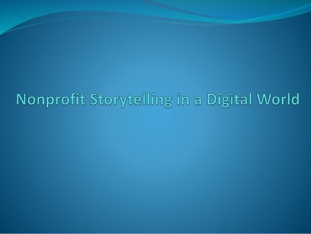 Takeaways From Today  Why storytelling is so vital to a successful nonprofit marketing & fundraising strategy  How to us...