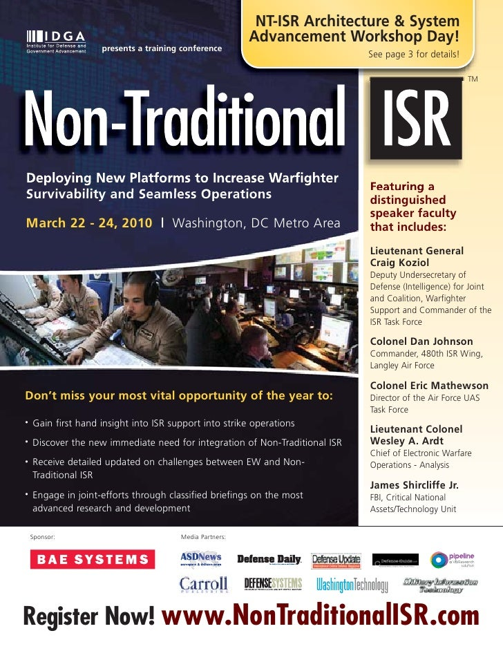 NT-ISR Architecture & System                                                          Advancement Workshop Day!           ...