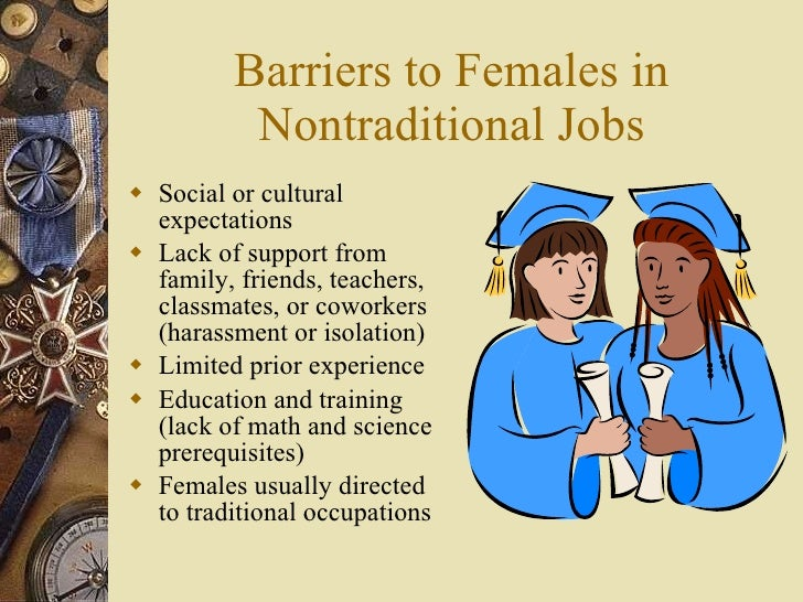 non traditional jobs for women