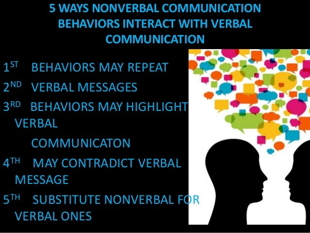 Verbal Communication Powerpoint With Verbal Communication