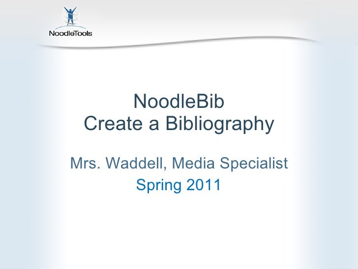 Noodle tools for students-Citing