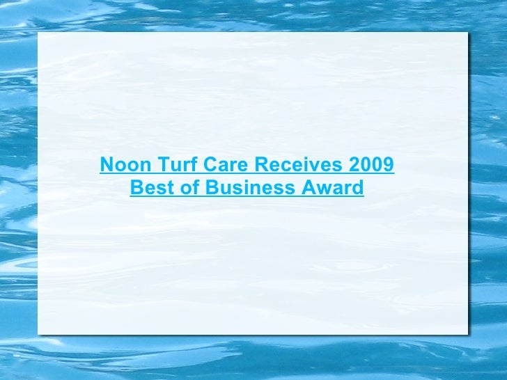 Noon Turf Care