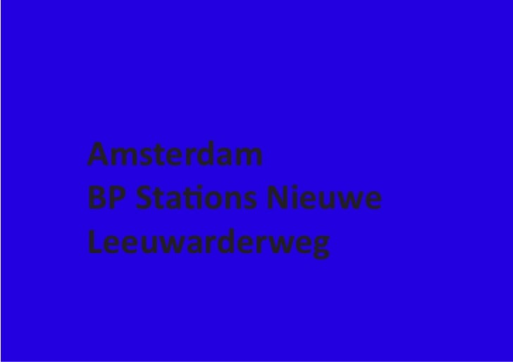 AmsterdamBP Stations NieuweLeeuwarderweg