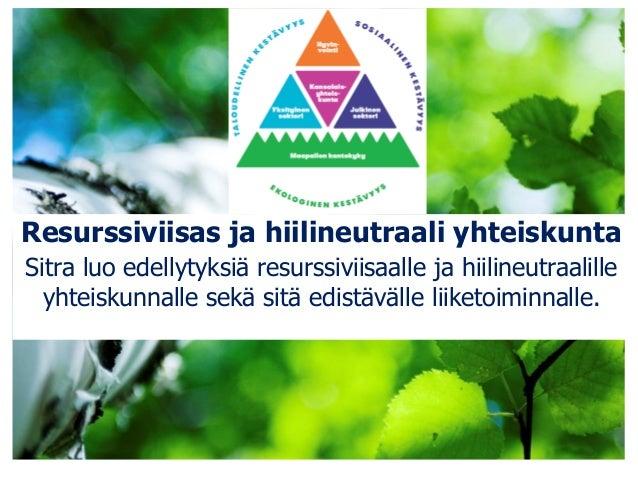 Kansallinen resurssiviisaus -foorumi: Jukka Noponen, tilaisuuden loppusanat