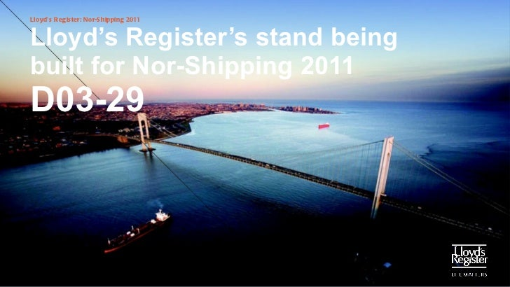 Nor-shipping stand build 2011