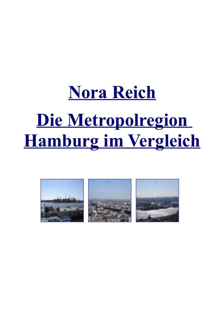 Nora Reich – Die Metropolregion Hamburg im Vergleich