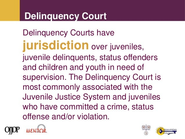an overview of juvenile delinquency and the need for rehabilitation Juvenile delinquency / an overview [ send me this paper] a 3 page discussion of juvenile delinquency, what it is , and what some of the popular sociological theories surrounding it are bibliography lists 3 sources.
