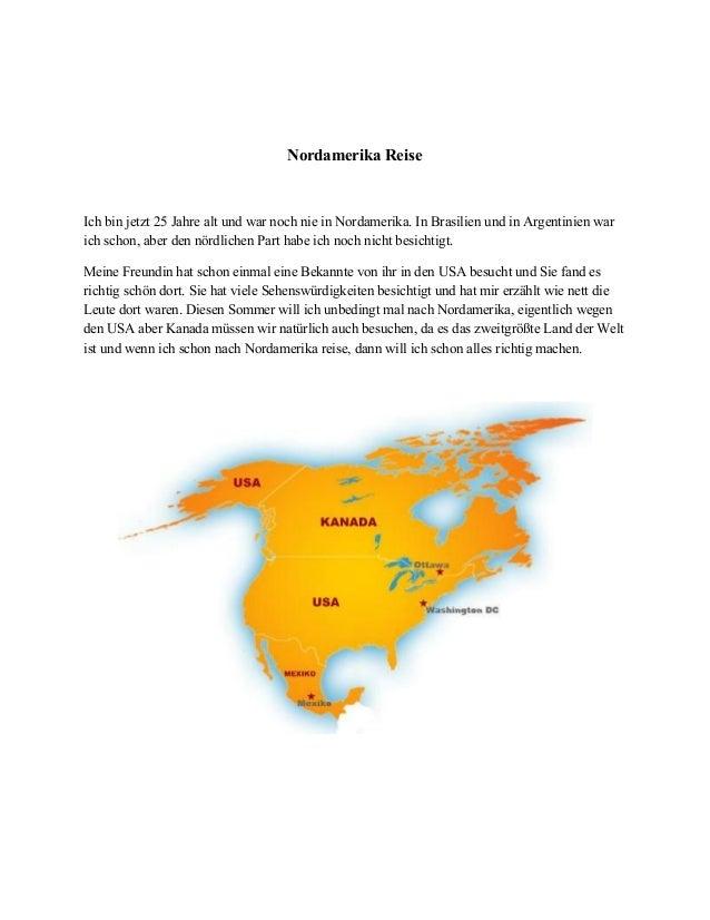 NordamerikaReise  Ichbinjetzt25JahrealtundwarnochnieinNordamerika.InBrasilienundinArgentinienwar ...