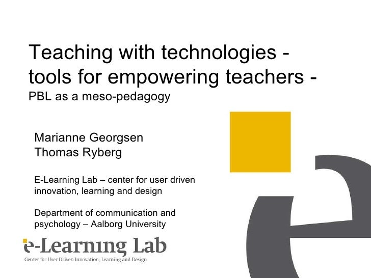 Nordforsk - meso-pedagogy and tools.ppt