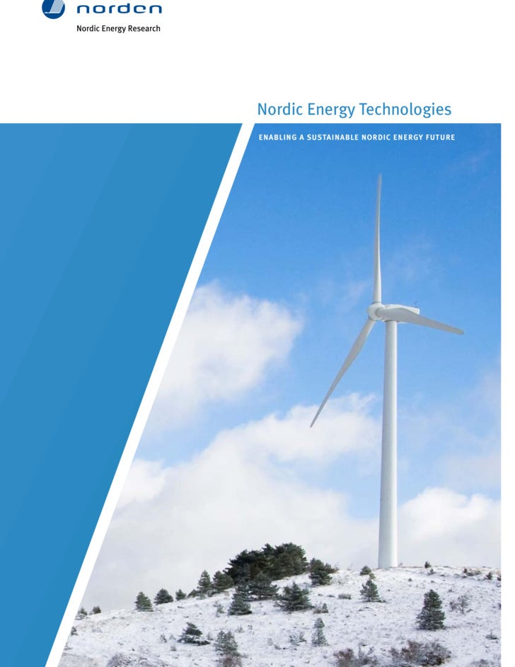Nordic Energy Technologies   Enabling A Sustainable Nordic Energy Future