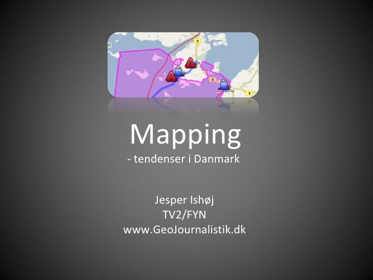 Mapping - tendenser i Danmark
