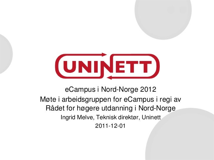 eCampus i Nord-Norge