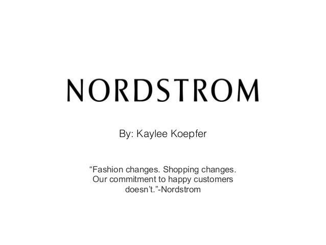 Nordstrom powerpoint