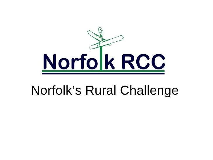 Norfolk's Rural Challenge