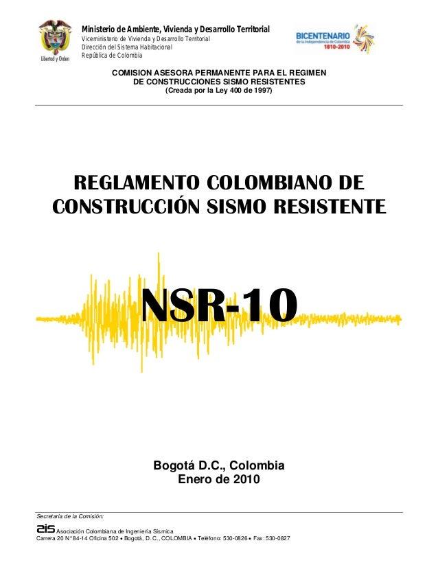 Norma sismo-resistente-NSR-10 completa