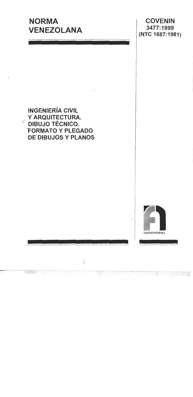 Norma covenin dibujo_tecnico_3477-99