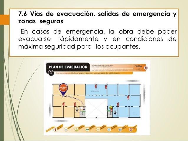Salidas de Emergencia Norma Salidas de Emergencia y