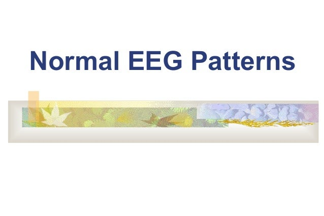 Normal EEG Patterns