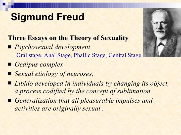 freud sigmund (1962). three essays on the theory of sexuality Buy three essays on the theory of sexuality by sigmund freud, james strachey (isbn: 9781614270539) from amazon's book store everyday low prices and free delivery on eligible orders.