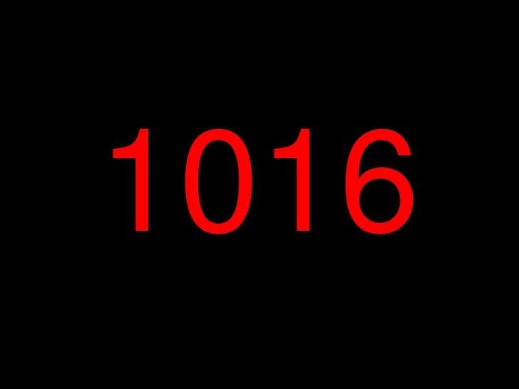 1016<br />