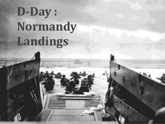 D-Day :NormandyLandings