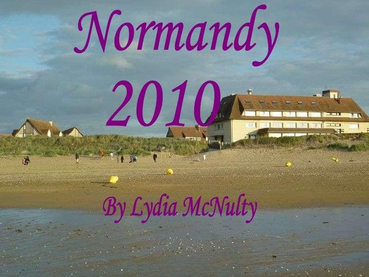 Normandy trip 2010