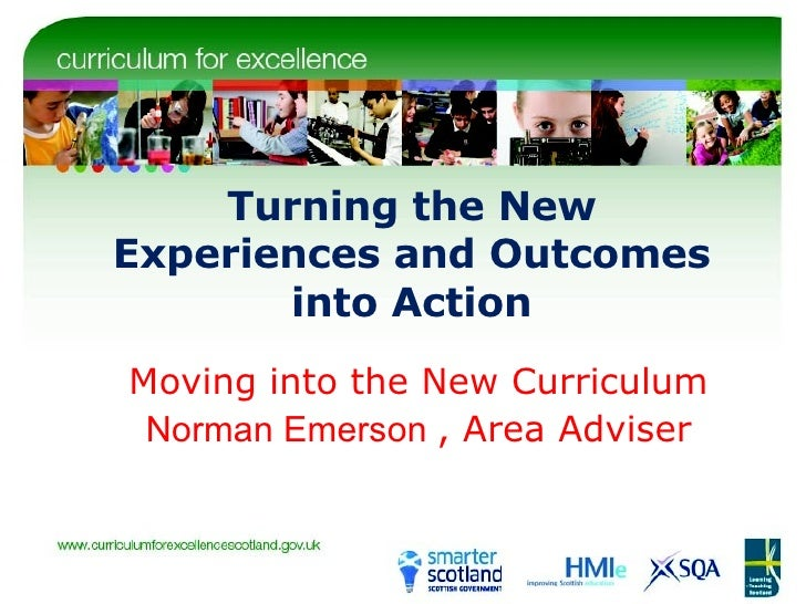 Norman Emerson Moving Into A New Curriculum