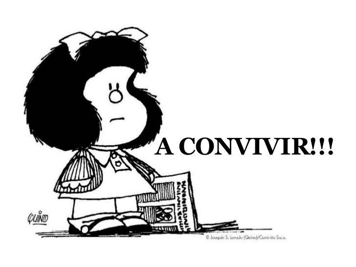 Resultado de imagen de convivencia mafalda