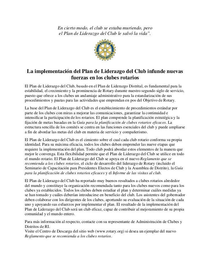 Normas Sobre El Plan De L Iderazgo Clp Policy Sp