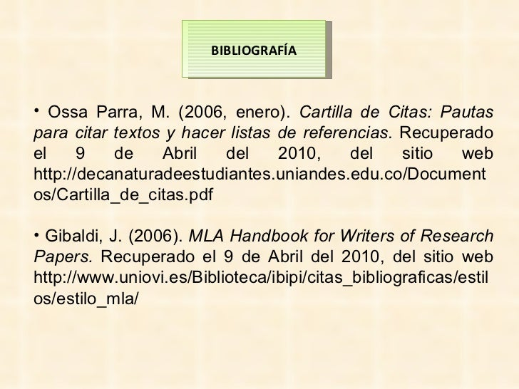 mla handbook for writers of research papers pdf