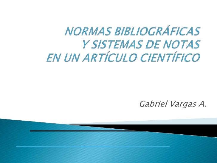 Gabriel Vargas A.