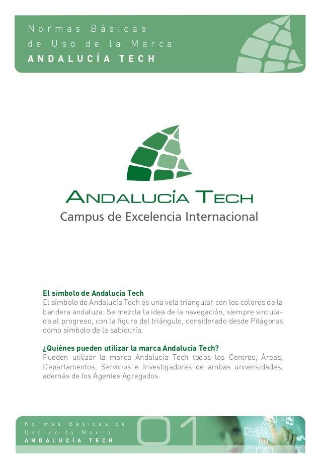Normas básicas de uso de la marca Andalucía Tech