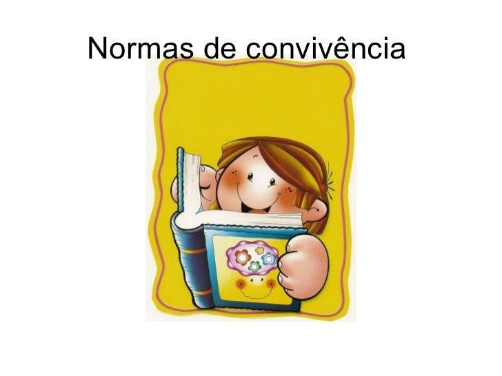 Normas De Convivencia | MEJOR CONJUNTO DE FRASES