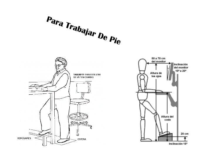 Normas de ergonomia for Normas de ergonomia