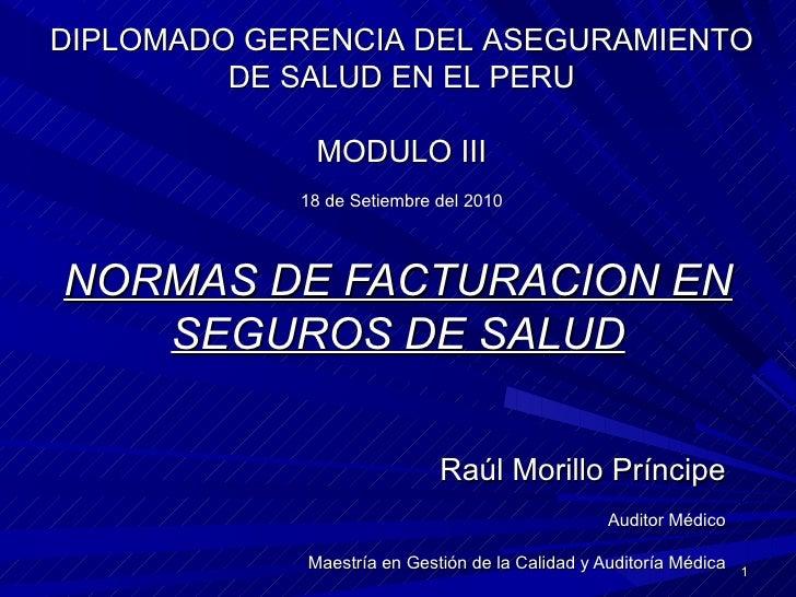 Normas de facturacion_en_seguros_de_salud