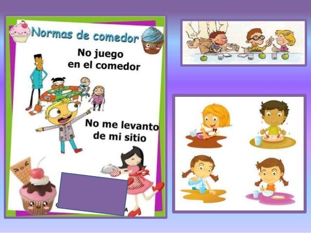 Normas del comedor patry monitora comedor for Normas para el comedor escolar