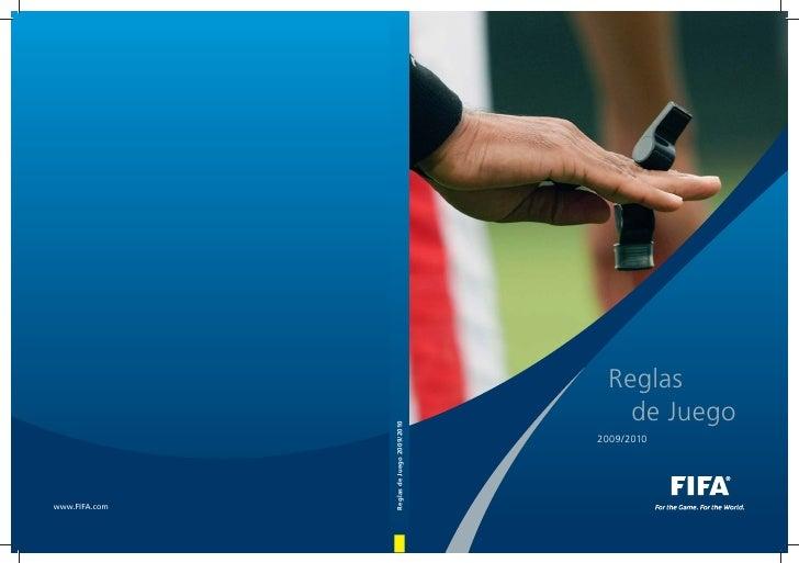 Reglas de Juego 2009/2010 FIFA