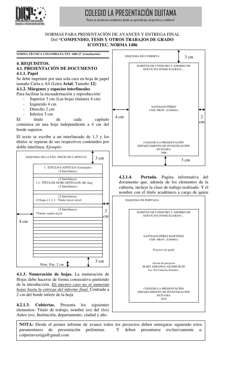 COLEGIO LA PRESENTACIÓN DUITAMADDEPPARRTAAMEENTTO DDE IINNVEESTTIGGACCIÓÓN DEEPAARTTAM ENNTOO DEE INVVESSTI IGAACI IÓNN   ...