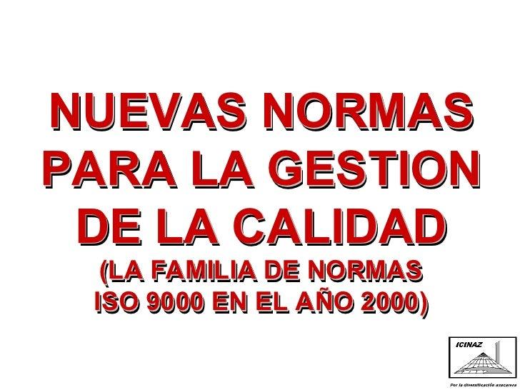 Normas ISO 9000 Versión 2000