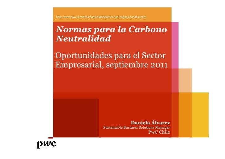 Normas para la carbono neutralidad. Oportunidad para el Sector Empresarial.