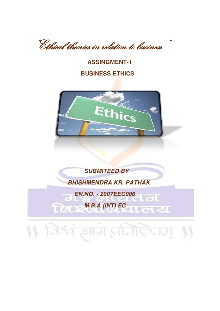 Normative theories of business ethics..
