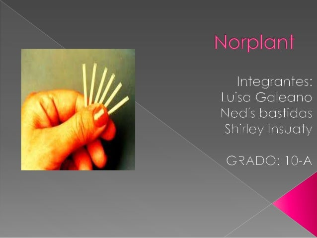   es un método de control natal que utiliza hormonas para prevenir el embarazo, son una serie de pequeñas barras que libe...