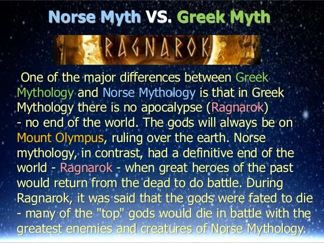 What can i compare norse, greek, arthurian legend to?
