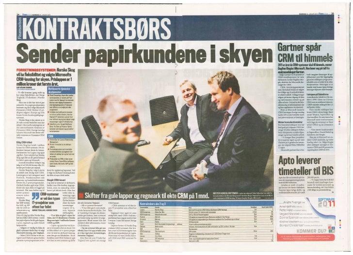 Norske skog finansavisen jan 24 2011