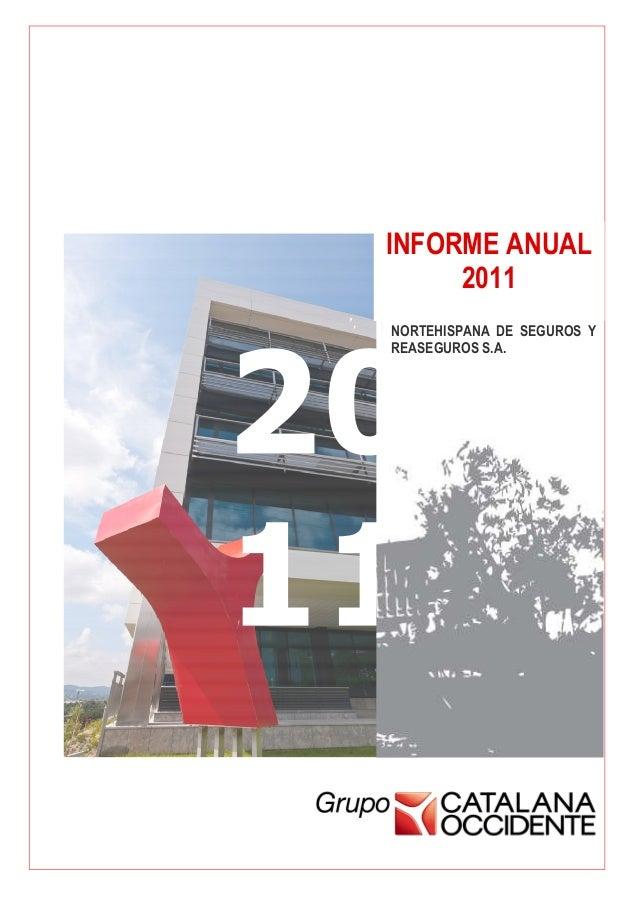 NorteHispana. Informe anual 2011