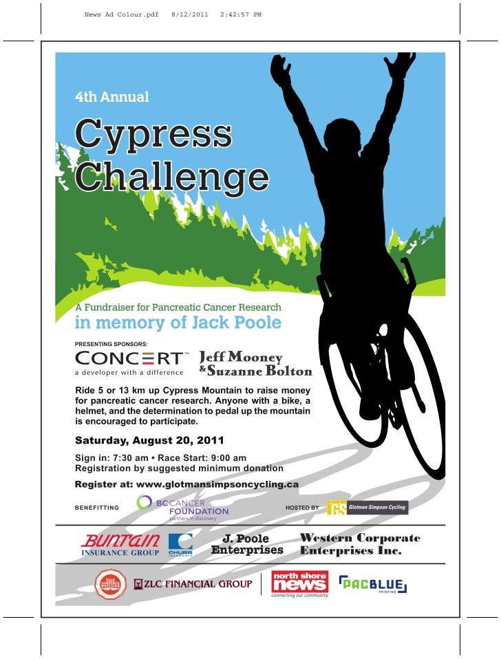 PacBlue Printing is a proud sponsor of the 4th Annual Cypress Challenge