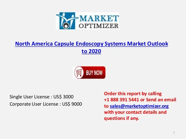 North America Capsule Endoscopy Systems Market Outlook to 2020 Single User License : US$ 3000 Corporate User License : US$...