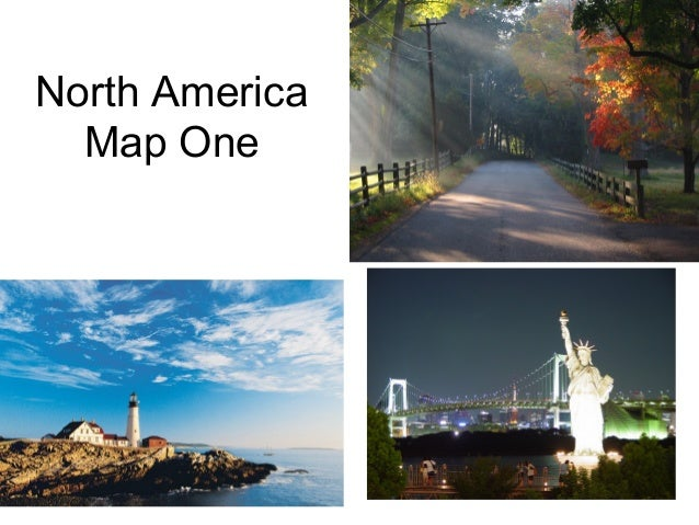 North america map one
