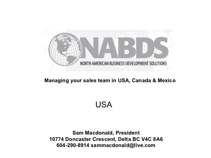 NABDS USA - North American Business Development Solutions - USA