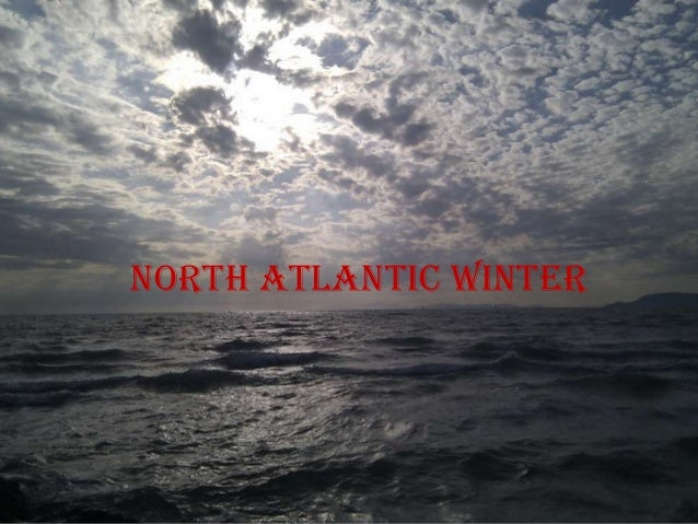 North atlantic winter
